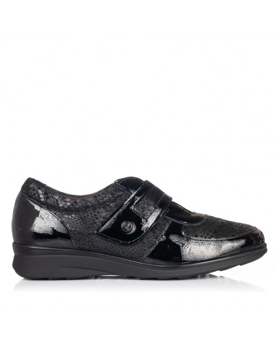Zapato velcro piel confort Mujer Pitillos 5702