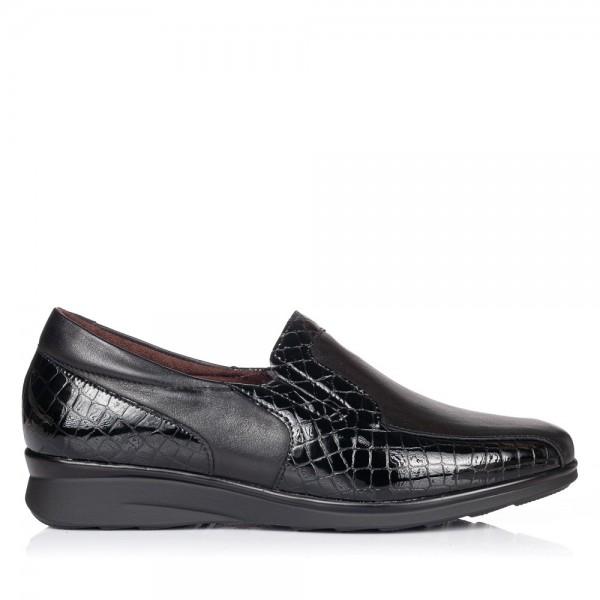 Zapato mocasin piel confort Mujer Pitillos 5703