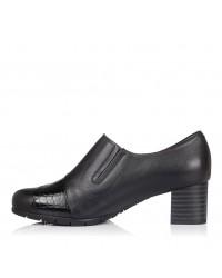 Zapato abotinado piel tacon Pitillos 5745