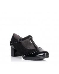 Zapato tira vestir tacon medio Mujer Pitillos 5751