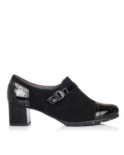Zapato abotinado vestir tacon Mujer Pitillos 5752