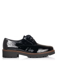 Zapato cordones charol Mujer Pitillos 5790