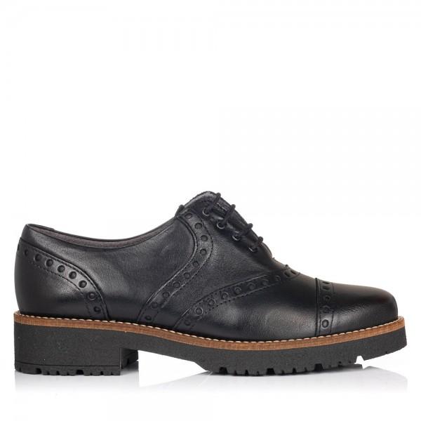 Zapato cordones piel Mujer Pitillos 5800