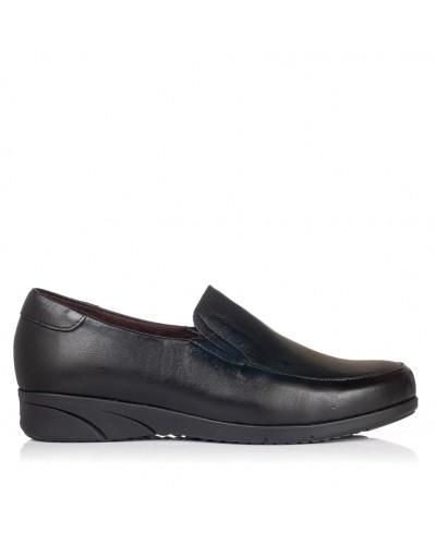 Zapato mocasin piel Mujer Pitillos 2970