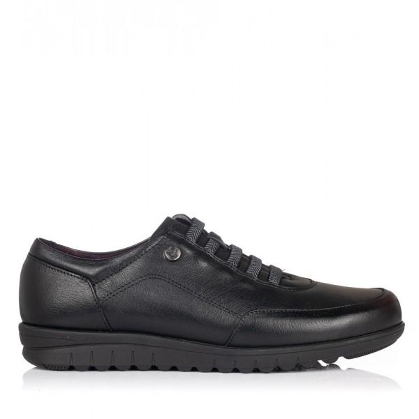 Zapato cordon elastico piel Mujer Pitillos 2985