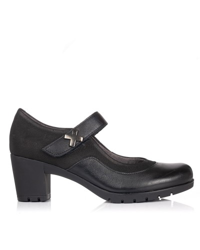 Zapato pulsera piel tacon Mujer Pitillos 3960