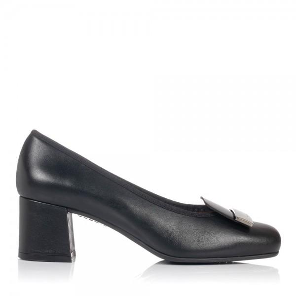 Zapato adorno piel tacon medio Gomez 7207