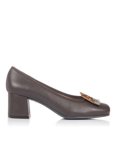 Zapato adorno piel tacon medio Mujer Gomez 7207