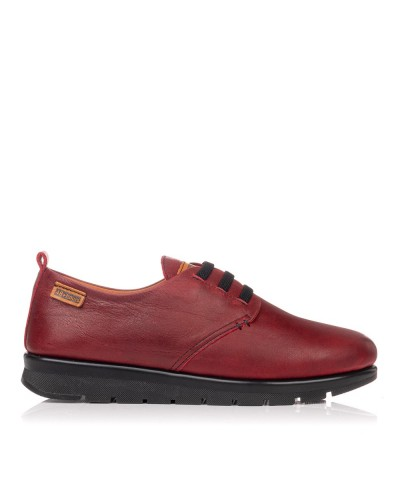 Zapato elasticos piel confort Mujer 48 horas 0906