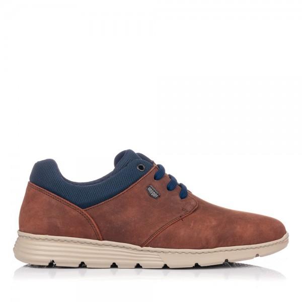 Zapato sport cordones piel On foot 3006