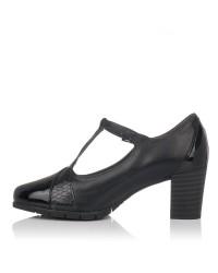 Zapato vestir tacon alto piel Mujer Pitillos 5764