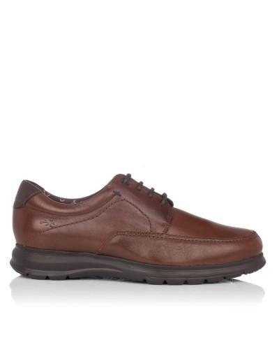 Zapato cordones light piel Hombre Fluchos 602