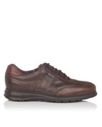 Zapato deportivo light piel Hombre Fluchos 607