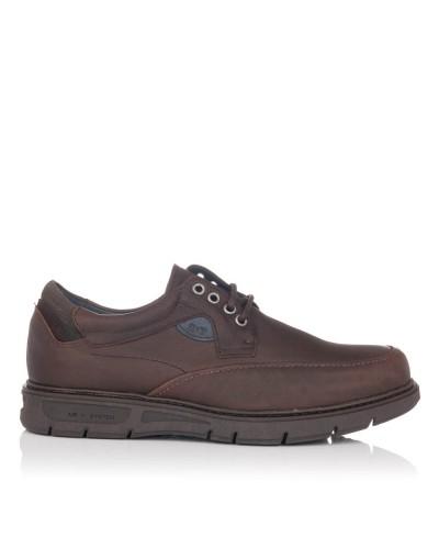 Zapato cordones sport piel Hombre Gomez 618