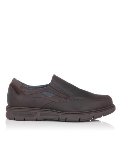 Zapato mocasin sport piel Hombre Gomez 616