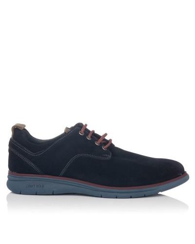 Zapato sport ante cordones Hombre Gomez 718
