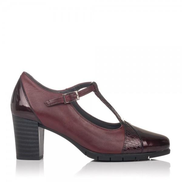 Zapato vestir tacon alto piel Pitillos 5764