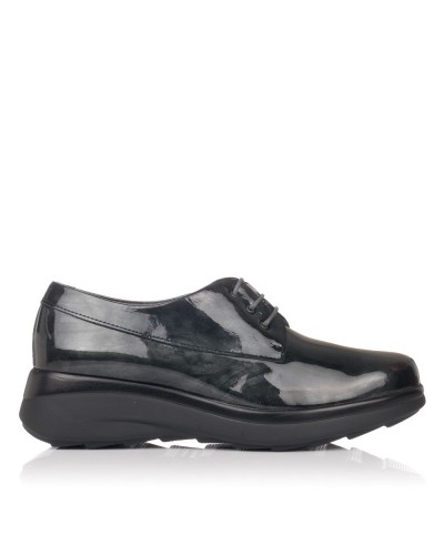 Zapato cordones charol Mujer Pitillos 5830