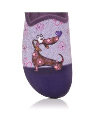 Zapatilla de casa perro Mujer Alberola A20701
