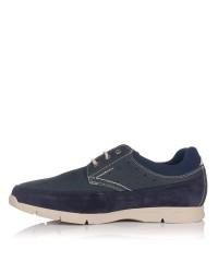 Zapato cordon nobuck Hombre Baerchi 5085