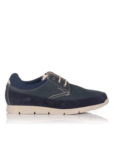 Zapato cordon nobuck Baerchi 5085