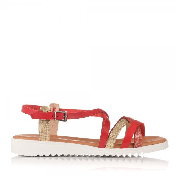 Sandalia tiras goma Mujer Oh my sandals 3843
