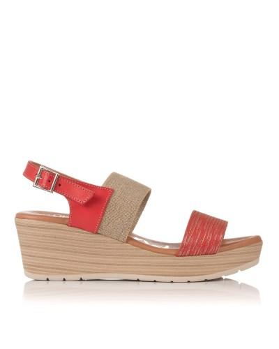 Sandalia cuña Mujer Oh my sandals 3885
