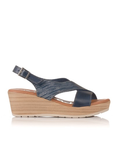 2 tiras cuña Mujer Oh my sandals 3883