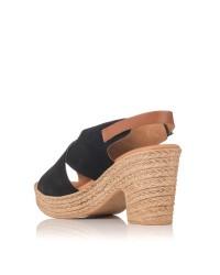 Sandalia 2 tiras plataforma Mujer Oh my sandals 4377
