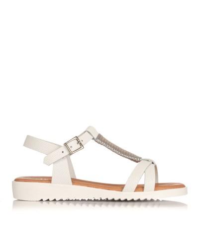 Sandalia metal piel Niñas Oh my sandals 3944