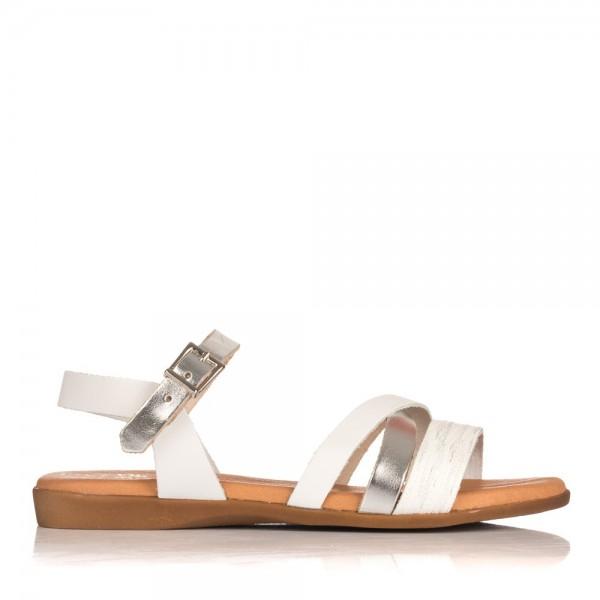 Sandalia combi piel Niñas Oh my sandals 3940
