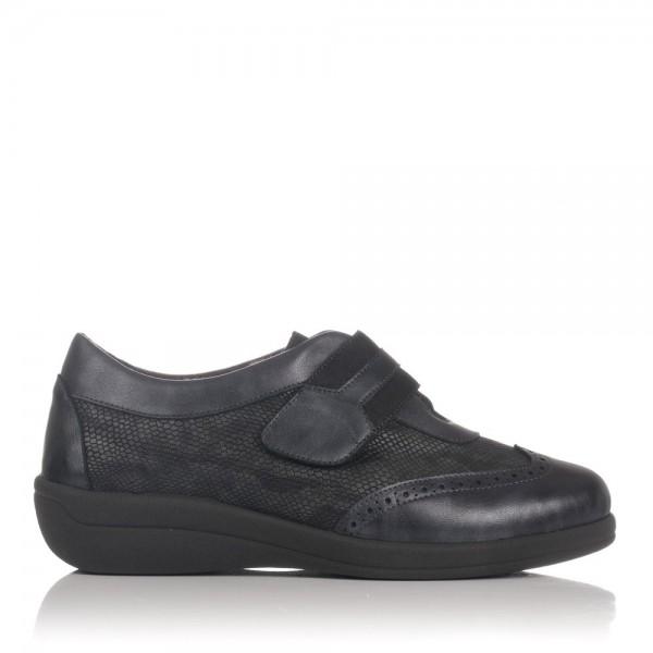 Zapato velcro piel Mujer Doctor cutillas 43406