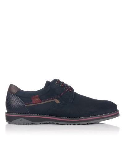 Zapato cordon goma Hombre Fluchos 9474