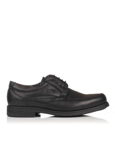 Zapato cordon piel tacon Hombre Fluchos 9300