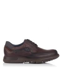 Zapato cordon engrasado Hombre Fluchos 248
