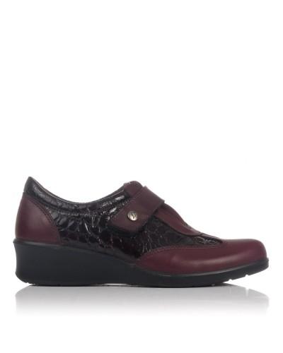 Zapato velcro cuña Mujer Luisetti 21806
