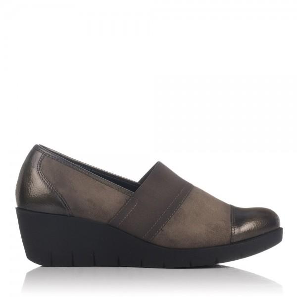 Zapato combinado cuña Mujer Gomez 461