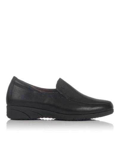 Zapato mocasin piel Mujer Pitillos 2802