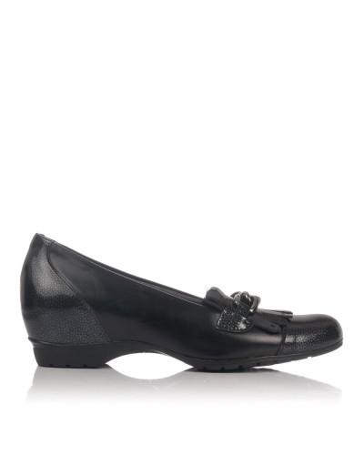 Zapato adorno cuña interior Mujer Pitillos 3816