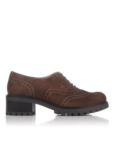 Zapato cordones ante Mujer Lince 83253