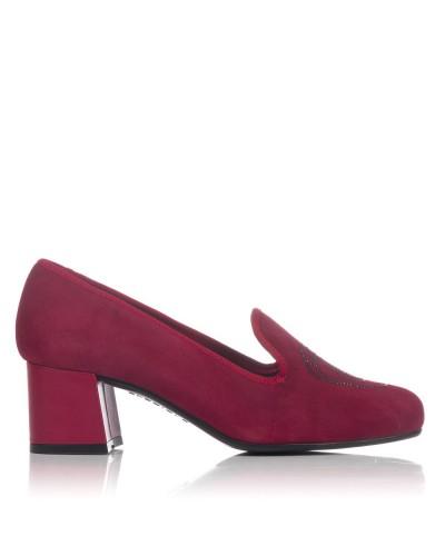 Zapato ante tacon Mujer Gomez 5405