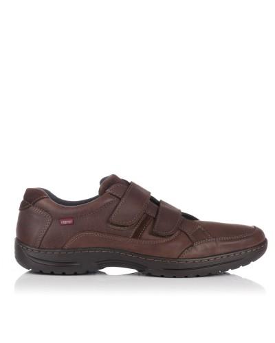 Zapato deportivo 2 velcros Hombre Baerchi 5787