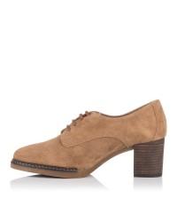 Zapato cordon serraje alto Mujer Maria jaen 7593
