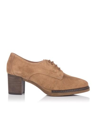 Zapato cordon serraje alto Maria jaen 7593