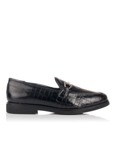 Zapato mocasin adorno piel Maria jaen 7550