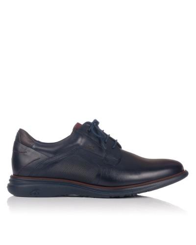 Zapato cordones liso piel Hombre Fluchos 235