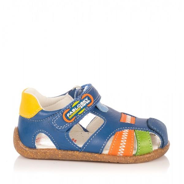 Sandalia piel combinada Niños Pablosky 044916