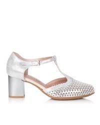 Zapato asandaliado alto Mujer Pitillos 5558
