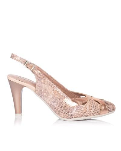 Zapato talon abierto vestir Mujer Pitillos 5575