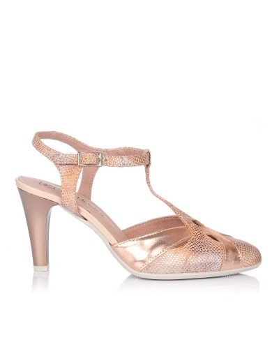 Zapato asandaliado vestir Mujer Pitillos 5576